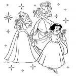 Coloriage Princesse Aurore A Imprimer