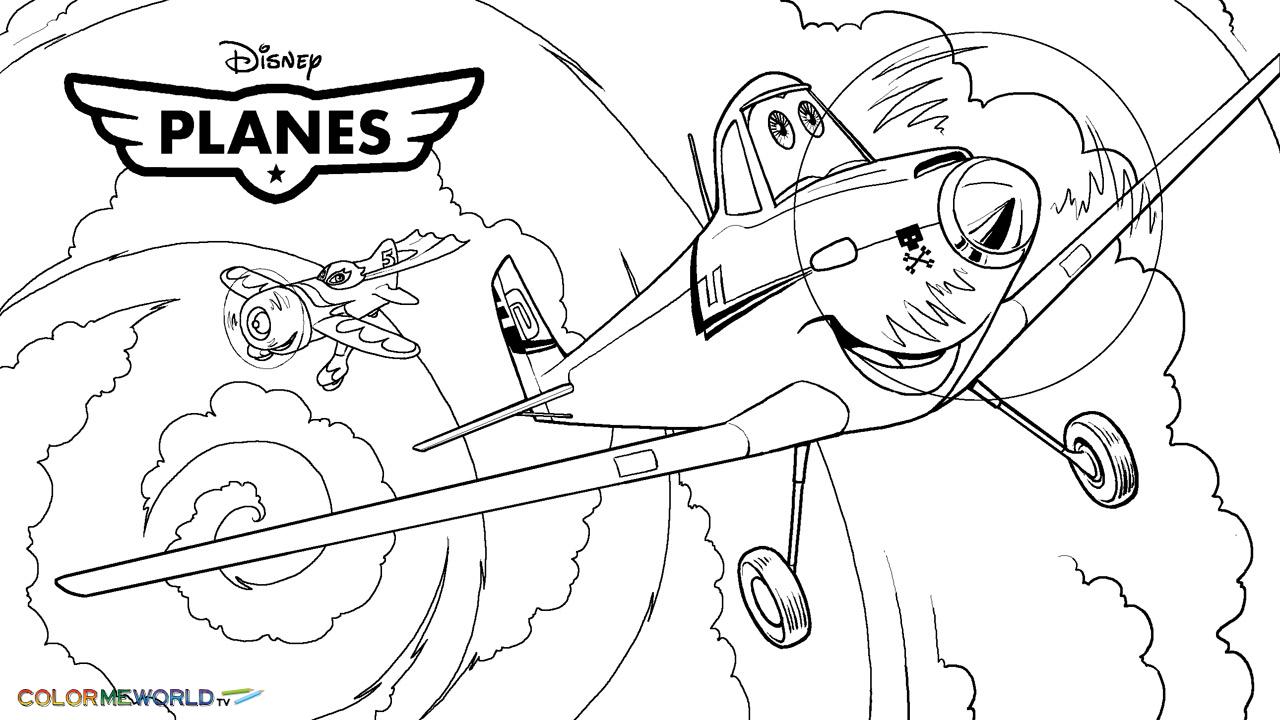Coloriage Planes Disney à imprimer