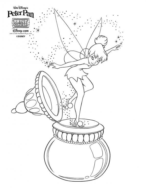 Clochette Peter Pan