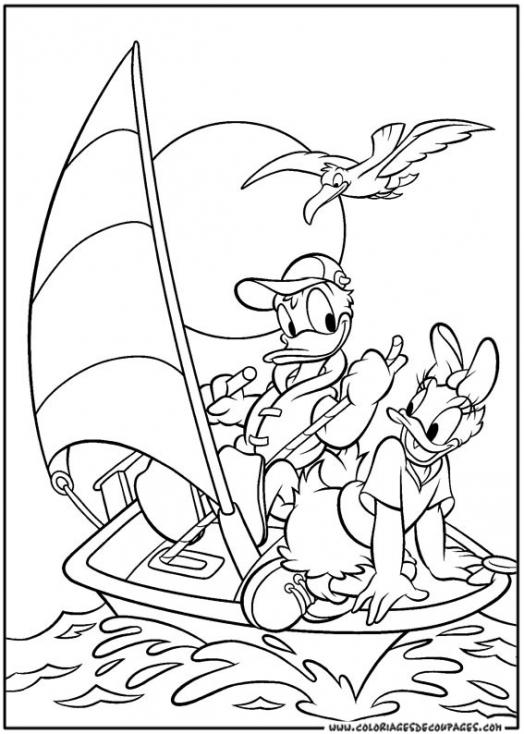 Donald et Daisy Duck