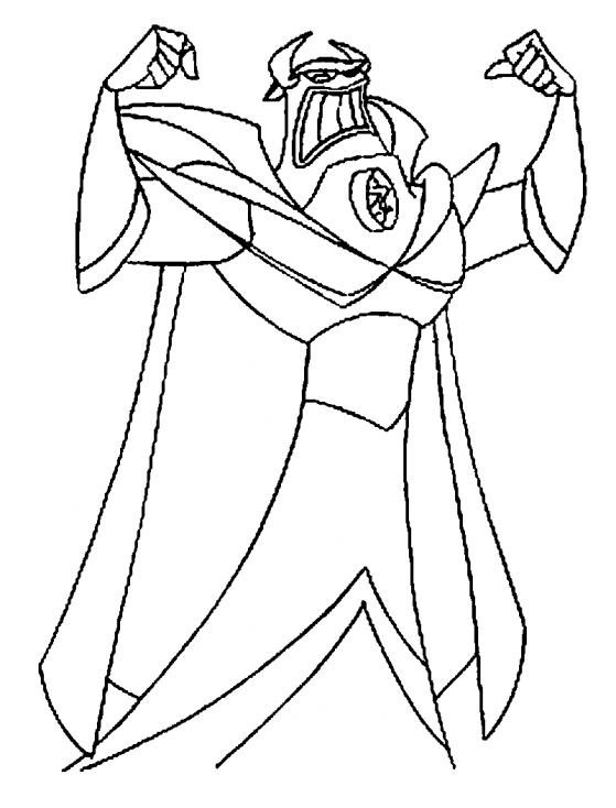 Coloriage Empereur Zurg