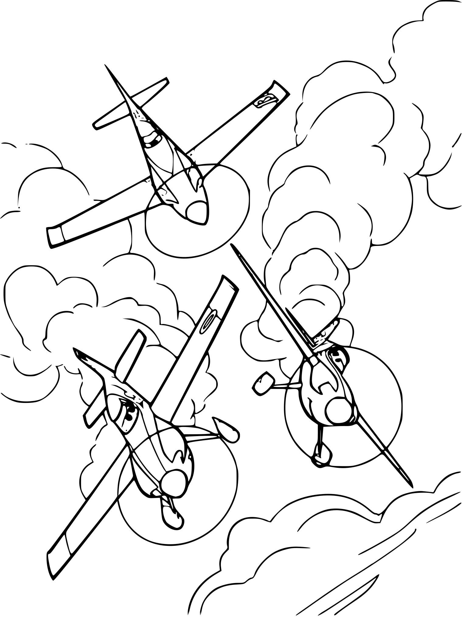 Planes Disney Dessin A Imprimer