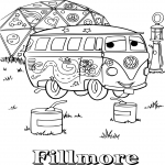 Coloriage Cars Fillmore