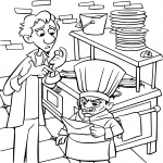 Coloriage Ratatouille Skinner