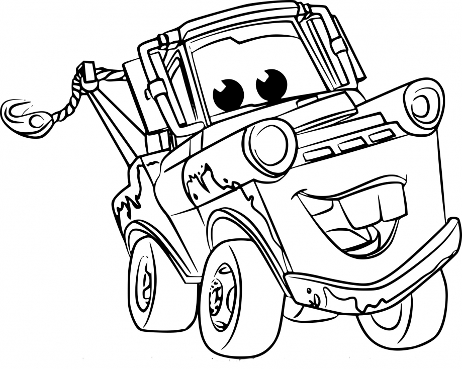 Coloriage Cars 3 Martin