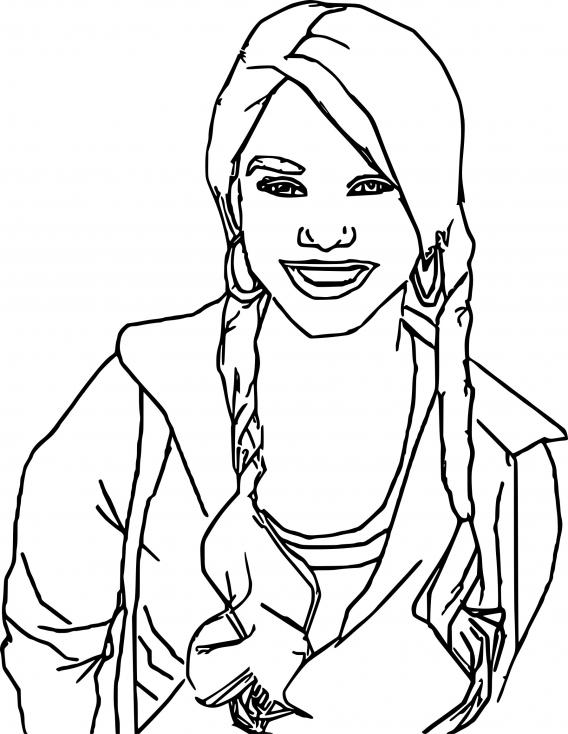 Coloriage Gabriella Montez