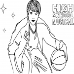 Coloriage High School Musical