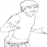 Coloriage Troy Bolton